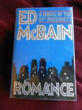 Ed McBain - ROMANCE - 1st/1st - Signed