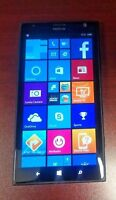 "Unlocked AT&T Nokia Lumia 1520 6"" Wifi Black 16GB Windows Phone 4G LTE GRADE A"