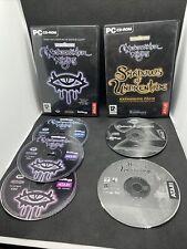 Neverwinter Nights | Basis Spiel & 2 Erweiterungen | PC Spiel | 5 Discs Total | sehr guter Zustand