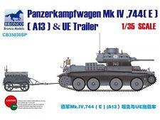 BRONCO CB35030SP 1/35 Panzerkampfwagen MK IV.744(E) A13&UE Fuel Tank Trailer
