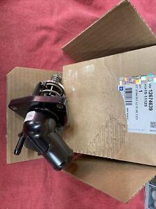 Genuine GM Engine Coolant Thermostat Kit 12674639 Silverado Tahoe Suburban