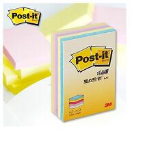 """3M Post-it CT-32 2x3"""" 51x76mm Notes Notas Paste Memo Pads Pastel 5 Colors"""