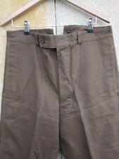 ancien pantalon grosse toile campagne / B 346