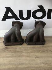 Audi TT Mk1 98-06 8N 3.2 V6 BHE OEM Exhaust Manifolds 022253033M / 022253034M