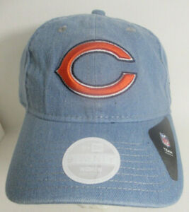 Bears Chicago Hat Women or Youth Strapback NFL Prefade New Era Cap