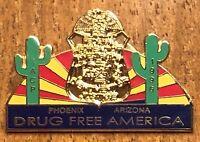 1996 IACP Police Chiefs FBI Department of Justice Phoenix Arizona Lapel Hat Pin