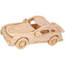 3d Madera Rompecabezas Woodcraft Deporte Coche Modelado JUGUETE REGALO