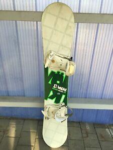 Snowboard VÖLKL SQUAD PRIME 54 mit Bindung Völkl XX ca. 152 cm x 25 cm Freestyle