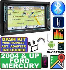 04 & UP FORD MERCURY GPS NAVIGATION SYSTEM BLUETOOTH DVD CD USB CAR Radio Stereo