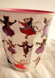 Emma Bridgewater Melamine Cup Dancing Mice Design