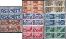 1946 ITALIA AVVENTO DELLA REPUBBLICA QUARTINA MNH ** - RR11756