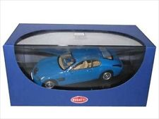 BUGATTI EB 118 PARIS 1998 BLUE 1/43 DIECAST MODEL CAR BY AUTOART 50921