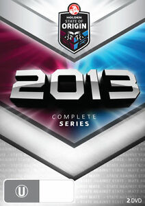 State Of Origin 2013 (DVD, 2013, 2-Disc Set)--free postage
