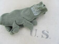 ORIGINALE US ARMY IN LANA GUANTI GLOVES m-1948 dito trigger og-208 ww2 wk2 WWI