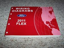 2011 Ford Flex Electrical Wiring Diagram Manual SE SEL Limited Titanium 3.5L V6