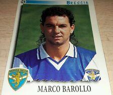 FIGURINA CALCIATORI PANINI 1997/98 BRESCIA BAROLLO ALBUM 1998