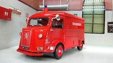 Voitures, camions et fourgons miniatures en plastique WELLY pour Citroën