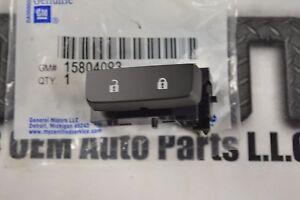 2007-2012 Chevrolet Silverado GMC Sierra LH Drivers Door Lock Switch OEM