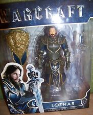 "Warcraft 6"" LOTHAR Action Figure With Accessory NEW"