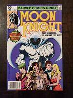 MOON KNIGHT #1 1980 VF/NM-...HIGH GRADE COMIC..1ST APP OF RAOUL BUSHMAN!!!