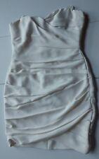 BCBG Maxazria MADGE Dress in Gardenia Color Size 12 Retails $298 NWT