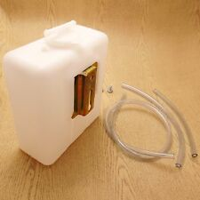 Radiator Reserve Overflow Tank Bottle Universal Use Down Tube Cooling New White