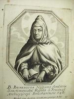 Santa Benedicto Hispana Michiel Van Lochom Siglo Xvii Para El Duquesa De Pinchos