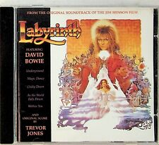 DAVID BOWIE- LABYRINTH- The 1986 Film Soundtrack/Score By Trevor Jones CD UK