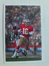 Joe Montana Tarjeta-una cuestión de Sport 1987-Excelente Estado