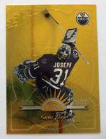1997-98 Leaf Curtis Joseph #16 Fractal Matrix Gold Parallel Rare! - Oilers