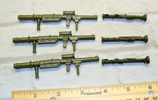 "1:18 U.S Army Rocket Luncher Anti Tank for 3 3/4"" BBI Ultimate Soldier set of 6"