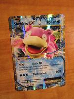 NM Pokemon SLOWBRO EX Card EVOLUTIONS Set 26/108 XY X and Y Ultra Rare