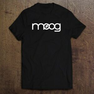 Moog Synthesizer Music Logo Men's T-shirt Tee Size S-2XL