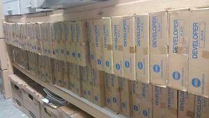 3 COLORS OEM DEVELOPER Konica DV610C DV610M DV610Y DV610 C6500 C6501 C7000 C6000
