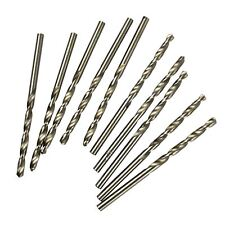 3mm HSS twist drills / drill set 10pc TE613