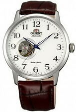 Orient Automatic Leather Strap Men's Watch SDB08005W