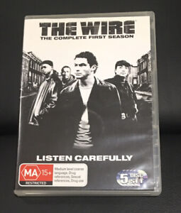 The Wire : Season 1 (2010 : 5 Disc DVD Set) Very Good Condition Region 4