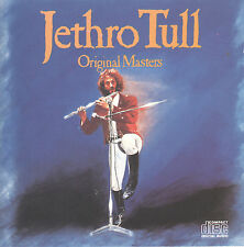 Original Masters by Jethro Tull (CD, 1985 Chrysalis) From the Vinyl Years...