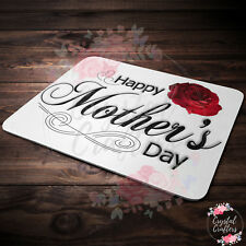 Personalised Custom Mouse Mat Pad - Mothers Day Gift - Upload Your Photos/Design