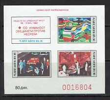 "MACEDONIA 1992 #2B mnh ""RED CROSS"" E247c"