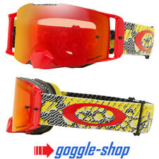 OAKLEY FRONT LINE MOTOCROSS MX GOGGLES - DAZZLE DYNO YELLOW RED / PRIZM TORCH