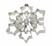 Ateco Giant Large Snowflake Cookie Cutter ~ Christmas cake ~ NEXT DAY DESPATCH