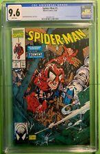 SPIDER-MAN #5 (1990) CGC 9.6 NM+ TODD McFARLANE COVER STORY & ART LIZARD MARVEL