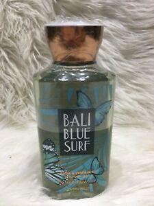 Bath & Body Works Bali Blue Surf shower gel 10 oz  Rare Discontinued Bs36