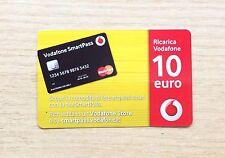 RICARICA TELEFONICA OMNITEL / VODAFONE - SMART PASS - 10 EURO 31/12/2021