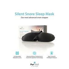 Máscara De Dormir PUR Silencioso Snore detener-Máscara Anti Ronquido-Smart Snore Stopper