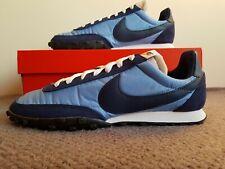 Nike Waffle Racer-UK Size 10-CN8115 400-Azul/Azul Marino-viento en cola/Amanecer