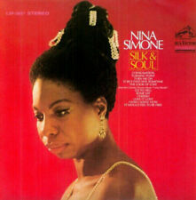 Silk and Soul by Nina Simone. jazz CD in cardboard vinyl replica sleeve