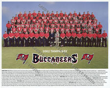 2002 TAMPA BAY BUCCANEERS NFL SUPER BOWL CHAMPIONS TEAM 8X10 PHOTO PICTURE