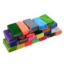 Colore misto 24 Morbido Sculpey Forno Cuocere polimero Modellazone Blocchi HK